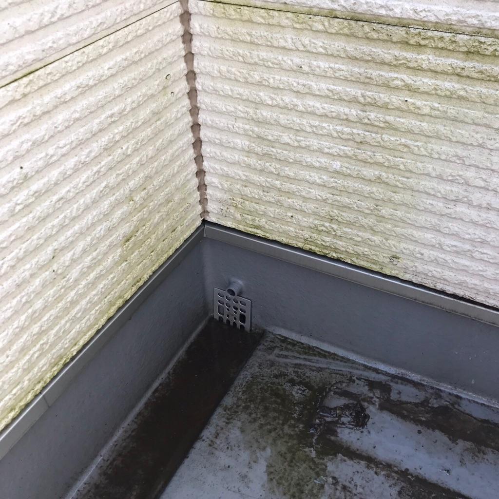 溝 ベランダ 掃除 排水